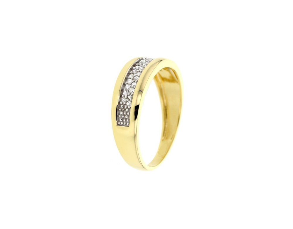 bague de fiancailles diamant en or jaune 9 carats diamant. Black Bedroom Furniture Sets. Home Design Ideas