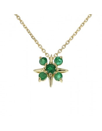 necklace in yellow gold - 18 K gold: 2.15 Gr