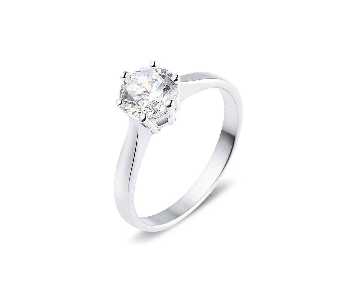 meilleure sélection 1db84 34f1b Bague diamant 1 carat et or blanc - DIAM and Co